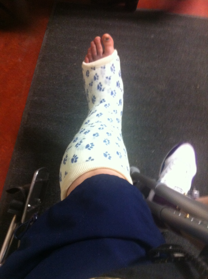 Wankle; Day 3 post-injury