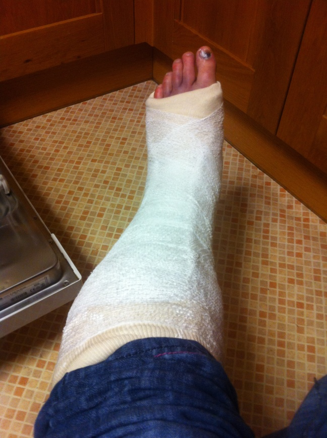 Wankle; 2 days post-injury